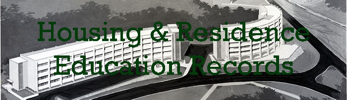 Housing & Residence Education Records