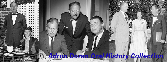 Adron Doran Oral History Collection