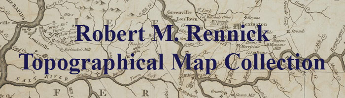Robert M. Rennick Topographical Maps Collection - County Maps M-N