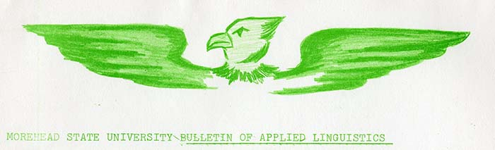 Bulletin of Applied Linguistics Archives