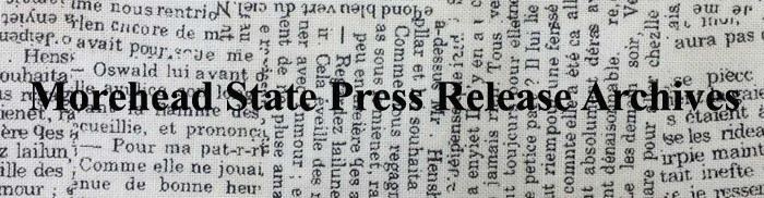 Morehead State Press Release Archives