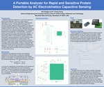 A Portable Analyzer For Rapid And Sensitive Protein Detection By Ac Electrokinetics Capacitive Sensing by Allie Skaggs and Cheng Cheng