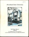 Morehead State University Self-Study Report, 1988-1990