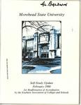 Morehead State University Self-Study Update, February 1990