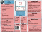 Community Unite: Spreading Hope and Encouraging Growth in the Community through Education by Diana Alonso, Clay Ehr, Lauren Ervin, and Alaya Murphy