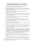 Indian Head Fact Sheet