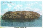 Postcard of Indian Head Rock