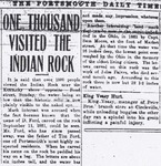 One Thousand Visited the Indian Rock