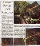 Historic River Rock Rescued