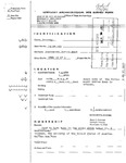 Kentucky Archaeological Site Survey Form
