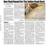 One Final Round for the Indian Head Rock
