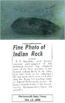 Fine Photo of Indian Rock