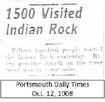 1500 Visited Indian Rock