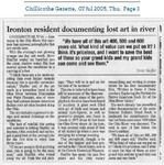 Ironton Resident Documenting Lost Art in River