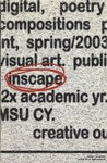 Inscape Spring 2003 by Morehead State University