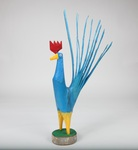 Blue Rooster by Minnie Adkins