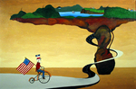 Uncle Sam Peddling by Brent Collinsworth