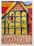 Squabs in an Old Church Loft by Joan Dance