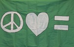 Protest Flag #3 by Unknown