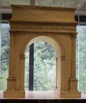 Arch of Augustus at Susa by Morehead State University. Camden-Carroll Library.