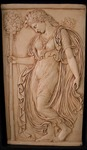 Dancing Maenad (Relief II) by Morehead State University. Camden-Carroll Library.