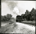 Unidentified Locomotive (image 11) by Morhead & North Fork Railroad Company