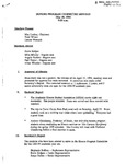 Honors Program Committee Minutes 1994-05-18 by J. Lenore Womack