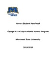 2019-2020 Honor's Handbook by Morehead State University. Academic Honors Program Committee.
