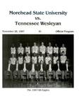 Morehead State University vs. Tennessee Wesleyan
