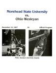Morehead State University vs. Ohio Wesleyan