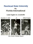 Morehead State University vs. Florida International