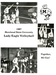1987 Morehead State University Lady Eagle Volleyball