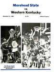 Morehead State vs. Western Kentucky