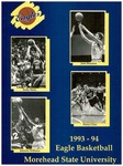 1993-94 Eagle Basketball Morehead State University