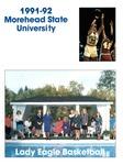 1991-92 Morehead State University Lady Eagle Basketball