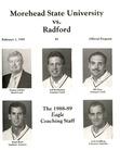 Morehead State University vs. Radford