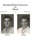 Morehead State University vs. Akron