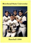 Morehead State University Baseball 1988