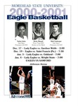 Lady Eagles & Eagles Basketball games from December 17, 2000 and January 4, 2001