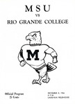 MSU vs. Rio Grande College by Morehead State University. Office of Athletics.