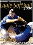 Morehead State University Eagle Softball 2003