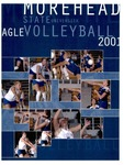 Morehead State University Eagle Volleyball 2001