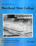 1958-59 Basketball at .... Morehead State College by Morehead State University. Office of Athletics.