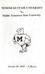 Morehead State University vs. Middle Tennessee State University