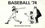 Baseball '74 Morehead State University