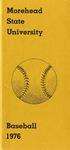 Morehead State University Baseball 1976
