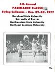 6th Annual Pacemaker Classic Ewing Coliseum - Dec. 29-30, 1977