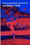Morehead State University Baseball 1978