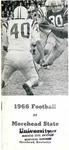 1966 Football at Morehead State University by Morehead State University. Office of Athletics.