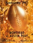 Homecoming 1967 - Morehead vs. Austin Peay by Morehead State University. Office of Athletics.